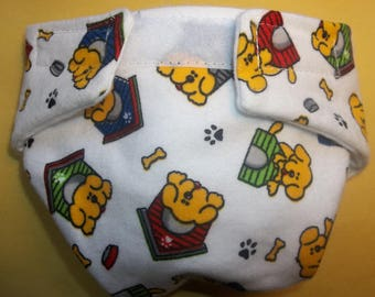 Cloth Doll diaper SIZE #2 ready to ship dog dog house fits Luvabella some Baby alive cabbage patch snackin sara stuffed animals and more