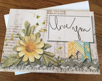 Item #104 - Love / Wedding / Anniversary / Just Because Greeting Card - Colossians 3:14