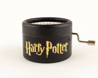 Black Music Box with Harry Potter's music, harry potter gift