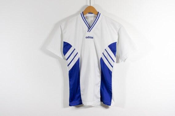 ERIMA • 80s • 90s • Vtg Football Tricot Soccer Jersey Sports Shirt Tee T-Shirt • Sz L XL • Rare Vintage European Sportswear Streetwear Qy6QD2uQ