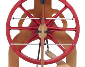 Schacht Ladybug Spinning Wheel & Lazy Kate