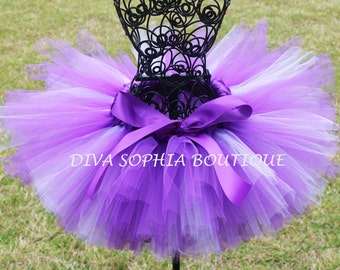 Purple Tutu - Birthday Tutu