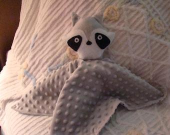 Raccoon Security Blanket