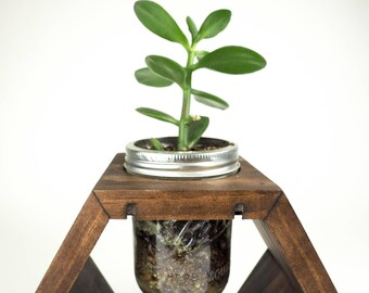 Plant Stand, Rustic Centerpiece, Rustic Planter, Flower Vase, Flower Decor, Wooden Planter, Succulents, Succulent Holder, Rustic Vase, Vase
