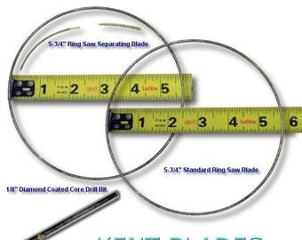 "GLS-292, 3pcs, 5-3/4"" Ring Saw All Purpose Blade Kit Fits Taurus"