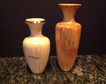 Set of Two Spinning Aspen Studio Vases