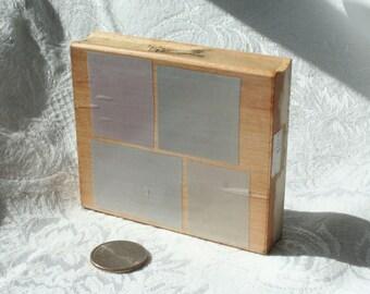Hero Arts Irregular Background Blocks rubber stamp,  wood mounted, Block Background Stamp, card background rubber stamp, Squares Stamp
