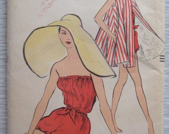 vintage 9183 Vogue BATHING SUIT sewing pattern