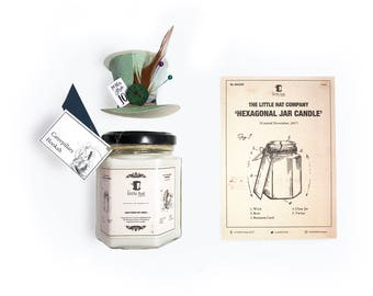 Caterpillars Hookah - Mysterious scented Alice in Wonderland inspired hand poured soy candle