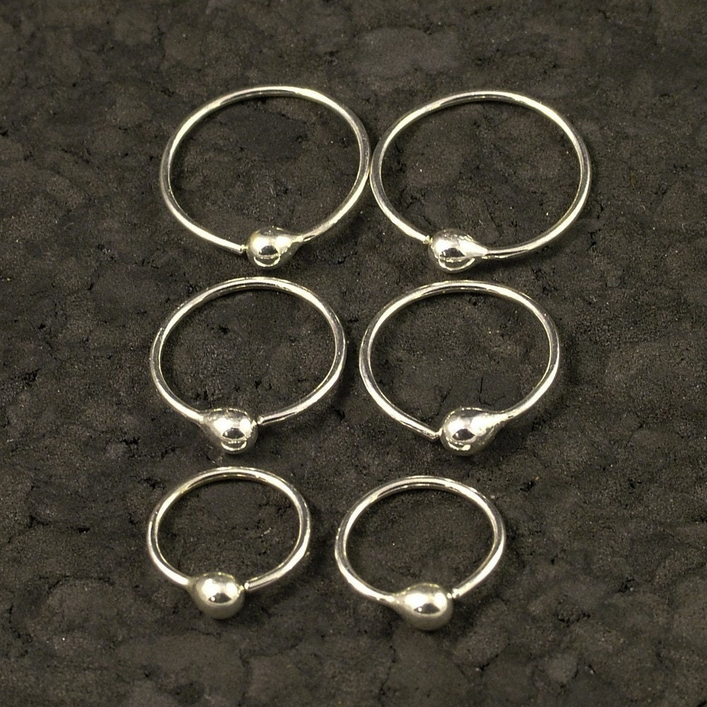 Small Silver Hoop Earrings Tiny Little Hoops Customize To