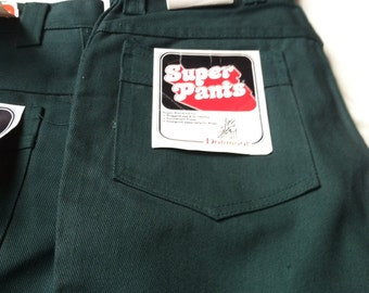Boy Super Pants Tumbleweeds Donmoor forest green