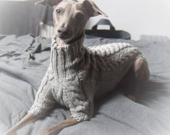 Luxury Italian Greyhound Superwash Wool Handmade