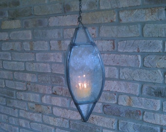 Stained Glass Lantern- Clear
