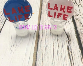 Lake Life Wine / Bottle Stoppers