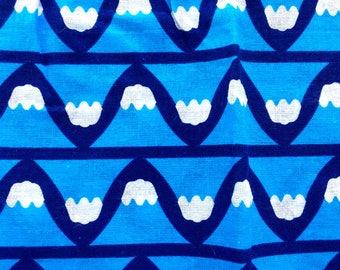 Japanese Tenugui Cotton Gauze Fabric  - Traditional Japanese - Mount Fuji - 34 x 95 cm Blue T22 B