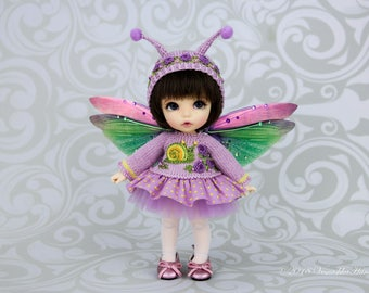 Snail outfit for pukifee, lati yellow, Irreldoll bjd dolls