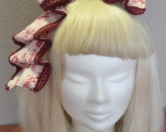 Pink head bow ( reduced 50%)