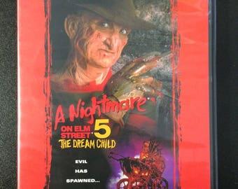 A Nightmare On Elm Street 5: The Dream Child DVD - New Line Cinema Slasher Horror