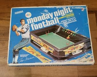 Vintage 1973 Monday Night Football Game