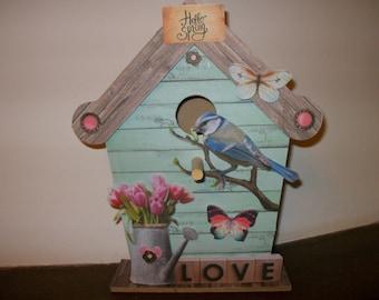 Birdhouse ornament... h 23 cm