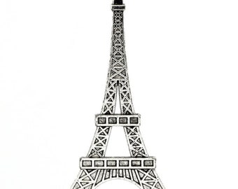 Large Eiffel Tower Pendant - Available Clip-on - Ready to Wear