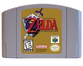 Legend of Zelda Ocarina of Time (N64)