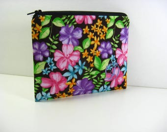 Personalized Cosmetic Bag, Bridesmaid Gift, Shower Gift, Zipper Pouch, Coin Purse, Clutch