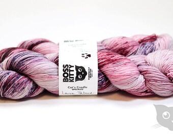 Laura Palmer - Hand Dyed/Superwash Merino/Cat's Cradle Speckles