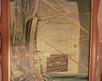 Vintage Walter Benoldi Framed Print
