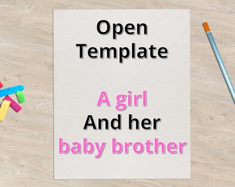 Digital book - Preparing a child for the arrival of a baby sibling