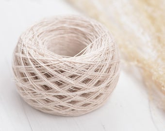 Hand Dyed Papiput Linen Yarn - Banda Aceh