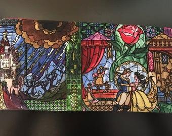 Disney's Beauty and The Beast handmade Wallet