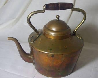 Vintage Portuguese Copper Kettle