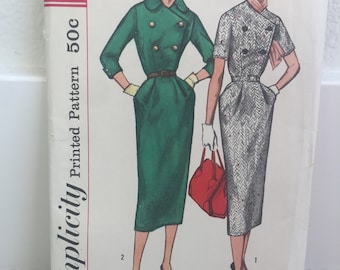 Vintage McCalls 2226 1960s dress pattern