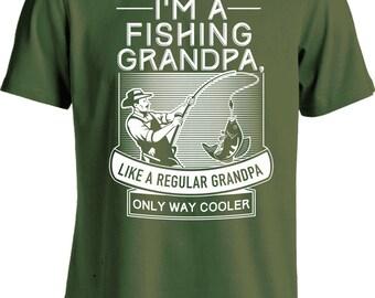 fishing gifts for grandpa shirt outdoor t shirt fisherman