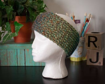 Beautiful Variegated Knit Headband