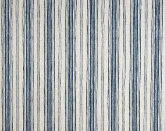 Brunswick Denim Stripe Home Decor Cotton Fabric By The Yard Magnolia Home  Fashions