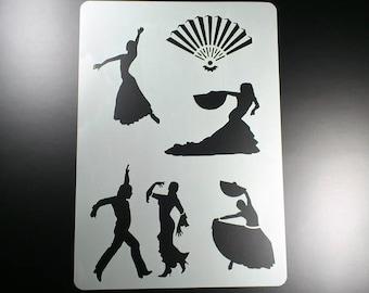 Template Flamenco dancer subjects Spain-BA39
