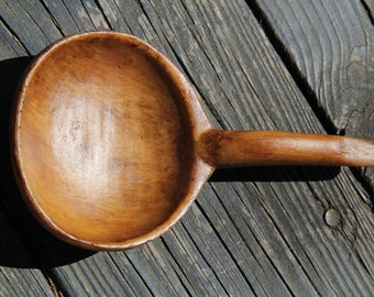 Faux Treen Spoon,  Paint craft, Garden , Rustic Decor, Home Decor, Vintage Decor