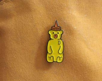Honey Bear Enamel Pin