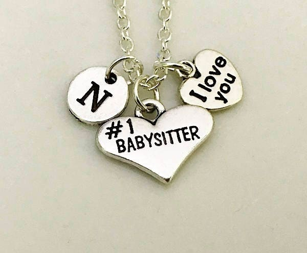 Nanny Jewelry Gift For Babysitter Necklace Thank You Birthday Gifts