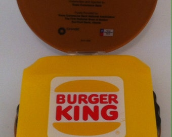 Vintage Burger King Award, 42 Million Dollar Deal, Loan Souvenir, Award, Keepsake, Looks Pretty Neat Too, The Westwind Ground, 1996