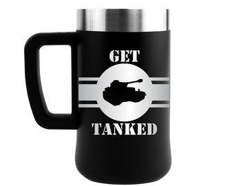 Deployment gift, Army gift, Gifts for him, Gifts for Marine, Navy, Soldier, 21st Birthday, Beer, Deployment Gift, Get Tanked, Deployment