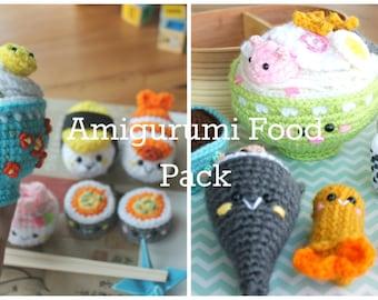 Amigurumi Food : Amigurumi food etsy