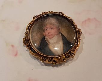 Georgian Locket Miniature