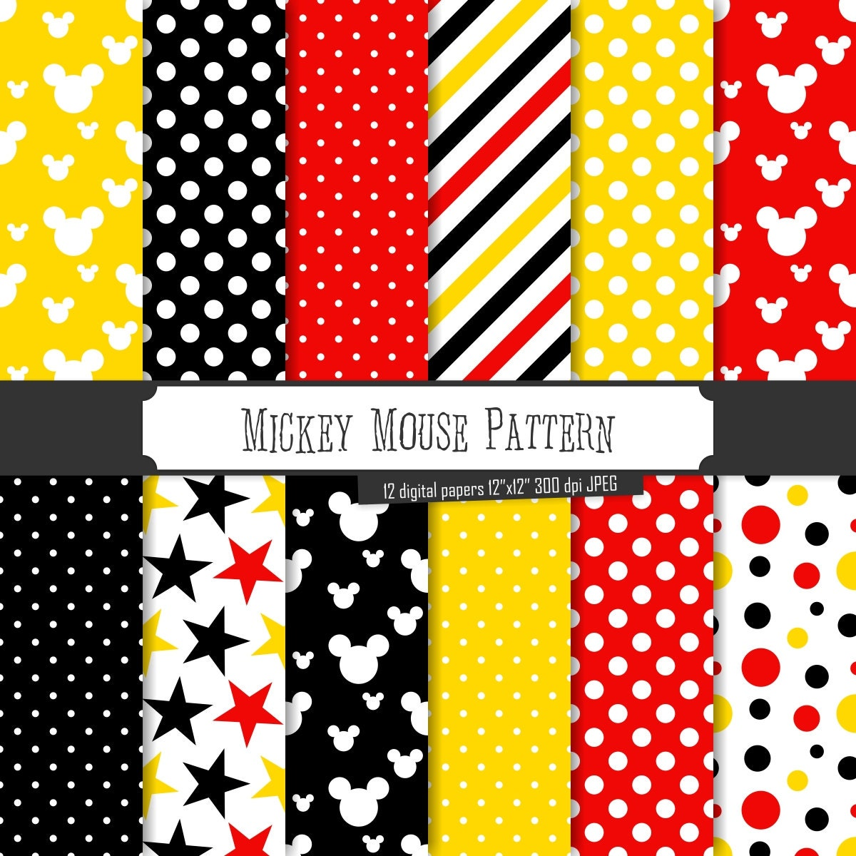 Free Mickey Mouse stuffed toy Crochet Patterns | Crocheted Mickey Mouse [Pattern Review].
