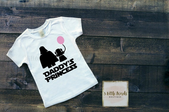 You can buy theDaddy's Princess Star Wars Shirt here