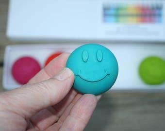 Emoji Crayons - Stocking stuffer for kids -  Emoji Party Favors - Classroom Crayons - Crayons for kids - Kid Unique Party Favor