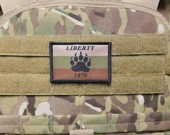 Pineland Resistance Force MULTICAM Morale Patch Special Forces Robin Sage