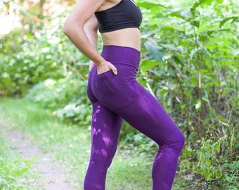 Booty Pocket Leggings, Pocket Leggings, Yoga Leggings, Yoga Wear, Hoop Clothes, Hoop Pants, Festival Clothing, Yoga Pants, Pocket Pants